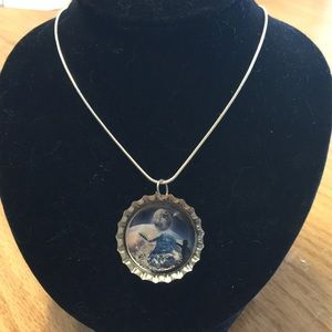Jewelry - Space Bottlecap Necklace